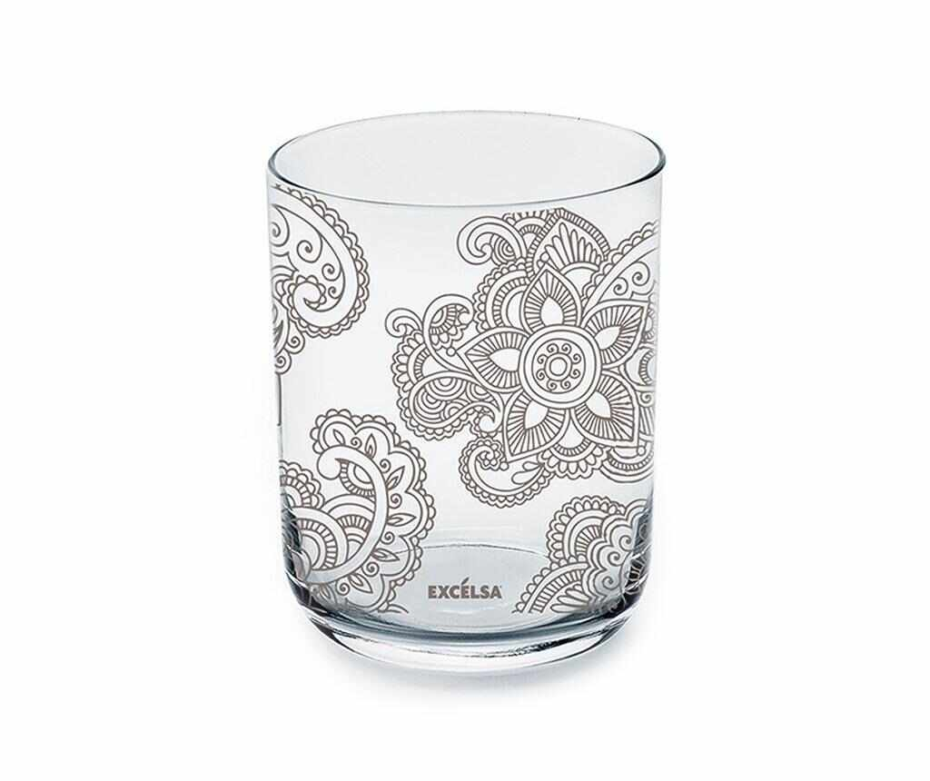 Set 6 pahare Enjoy Mandala 350 ml la pret 65.99 lei