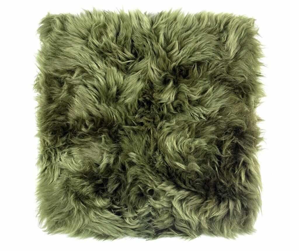 Perna de sezut Fluffy Green 40x40 cm la pret 129.99 lei