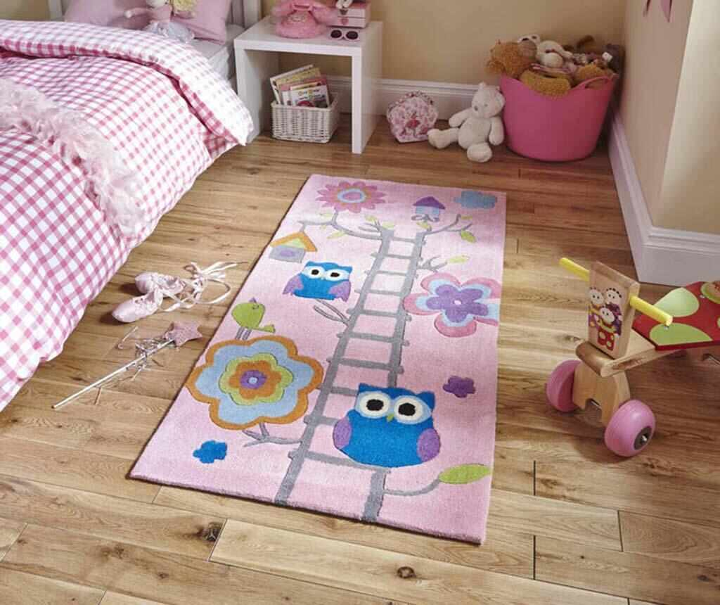 Covor Owl on Ladder Pink 70x140 cm la pret 219.99 lei