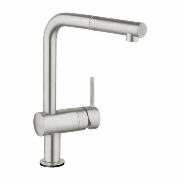 Baterie bucatarie Grohe Minta Touch cu dus extractibil la pret 2089 lei