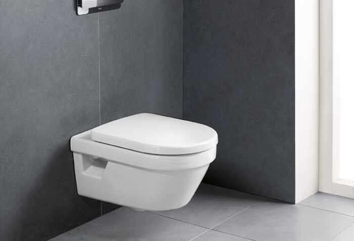 Set vas wc suspendat VilleroyBoch Architectura DirectFlush cu capac soft close