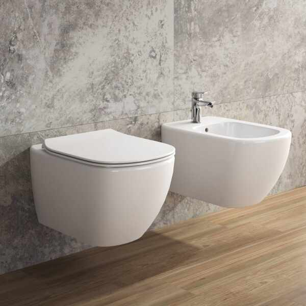 Vas wc suspendat Ideal Standard Tesi AquaBlade la pret 659 lei