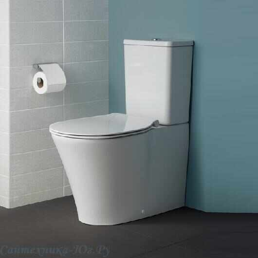 Set vas wc pe pardoseala btw cu rezervor si capac softclose Ideal Standard Connect Air AquaBlade