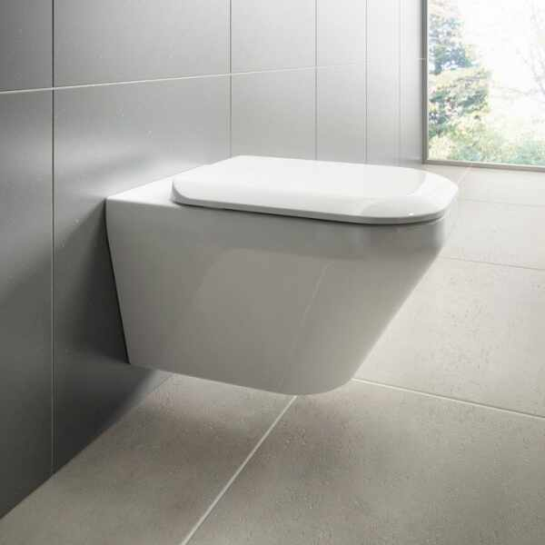 Set vas wc suspendat cu capac softclose Ideal Standard Tonic II Aquablade la pret 1699 lei