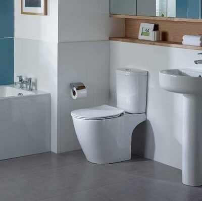 Vas wc pe pardoseala Ideal Standard Connect Aquablade la pret 493 lei