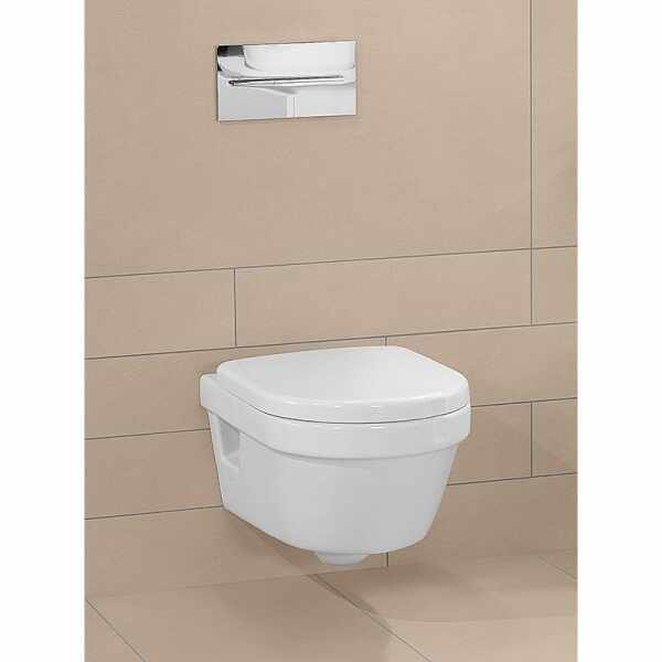 Set vas wc suspendat VilleroyBoch Architectura Direct Flush Compact