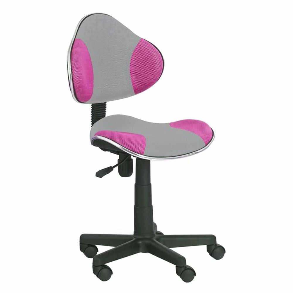 Scaun birou copii HM Flash 2 roz - gri multicolor la pret 222 lei