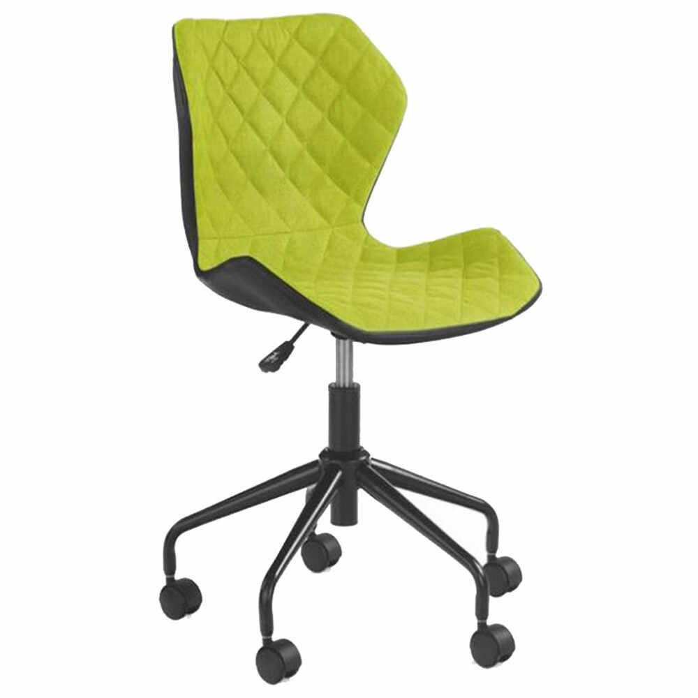 Scaun birou copii HM Matrix negru - verde Verde la pret 309 lei