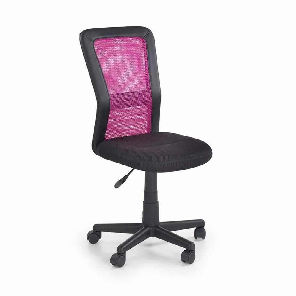 Scaun birou copii mesh HM Cosmo negru - roz Roz la pret 237 lei