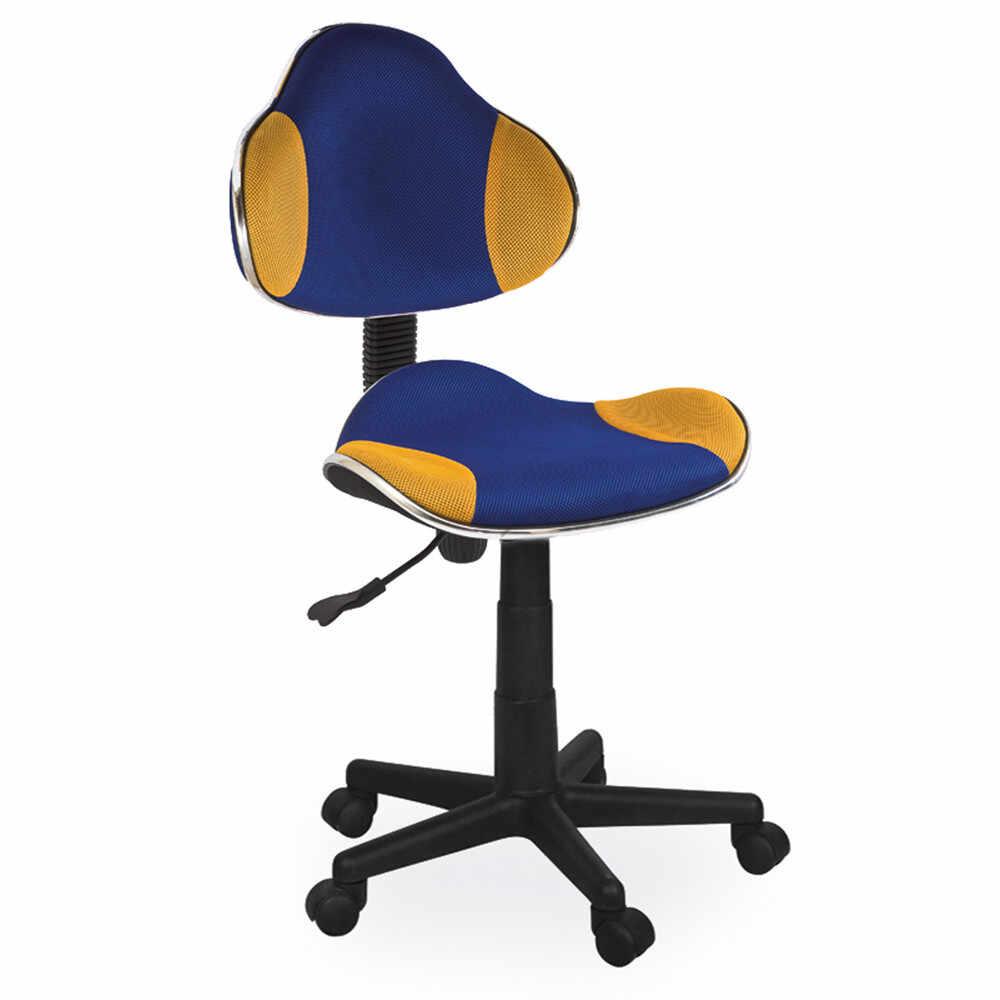 Scaun birou copii mesh SL QG2 albastru - galben multicolor la pret 288 lei