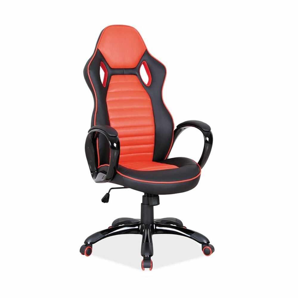 Scaun gaming SL Q105 negru - portocaliu Portocaliu la pret 776 lei