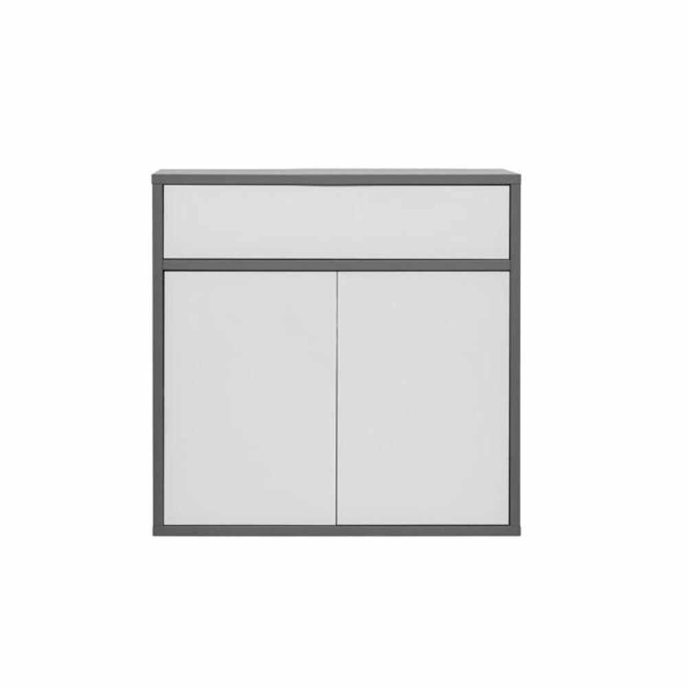 Comoda gri grafit/alb GL MARSIE M4 la pret 916.55 lei