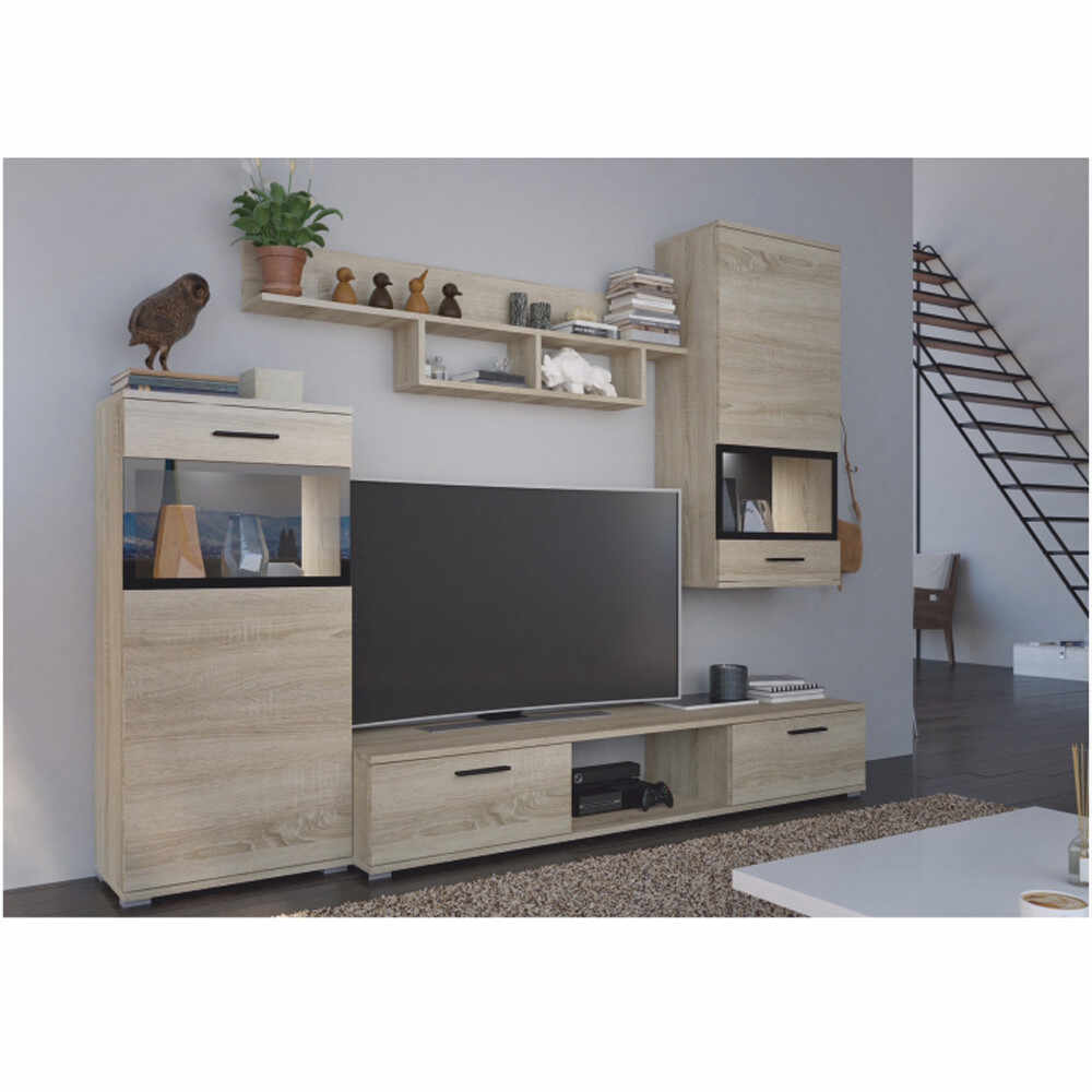 Mobilier living stejar sonoma GL BREAK