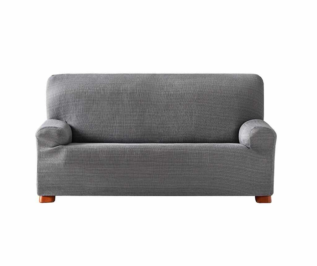 Husa elastica pentru canapea Aquiles Grey 210-240 cm la pret 249.99 lei