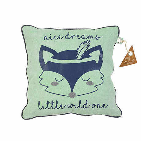 Perna Decorativa Little Wild, Blue, 45x45 cm la pret 208 lei