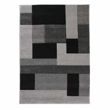 Covor Flair Rugs Cosmos Black Grey, 80 x 150 cm, negru - gri