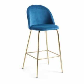 Scaun bar La Forma Mystere, înălțime 108 cm, albastru la pret 901 lei