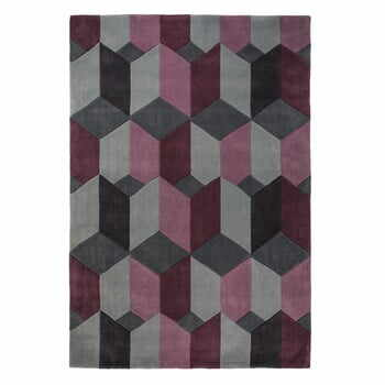 Covor Flair Rugs Scope Purple, 80 x 150 cm, gri-mov la pret 302 lei