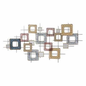 Decorațiune metalică pentru perete Mauro Ferretti Cube, 134,5x71cm la pret 691 lei
