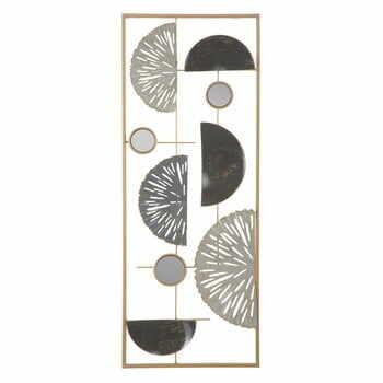 Decorațiune metalică pentru perete Mauro Ferretti Geometric, 28,5x74cm la pret 214 lei