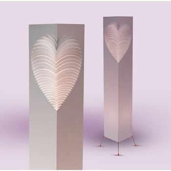 Lampă decorativă MooDoo Design Heart, înălțime 110 cm la pret 719 lei