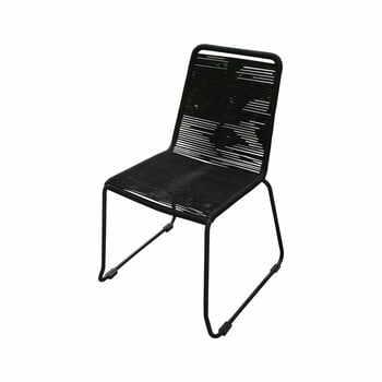 Set 4 scaune de grădină Ezeis Clipper, negru la pret 2125 lei