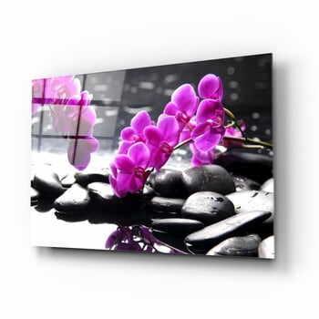 Tablou din sticlă Insigne Orchid la pret 156 lei