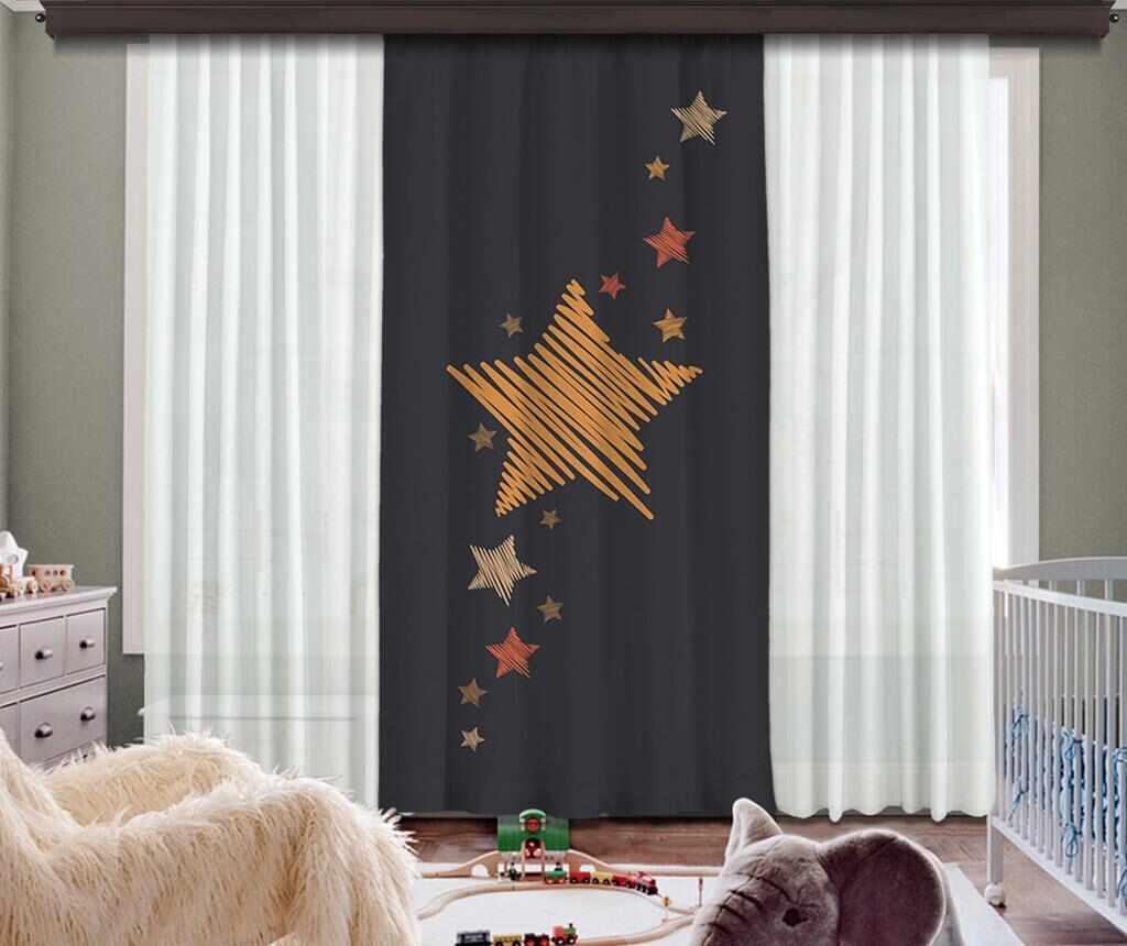 Draperie Sky Full Of Stars 140x260 cm la pret 169.99 lei