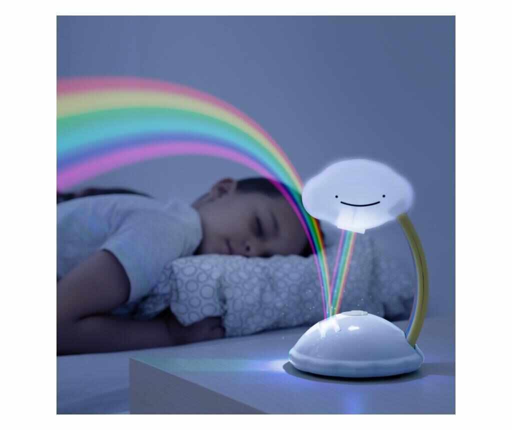 Lampa de veghe cu proiector Rainbow la pret 65.99 lei