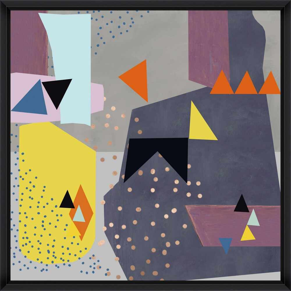 Tablou Framed Art Abstract Triangles I la pret 508 lei