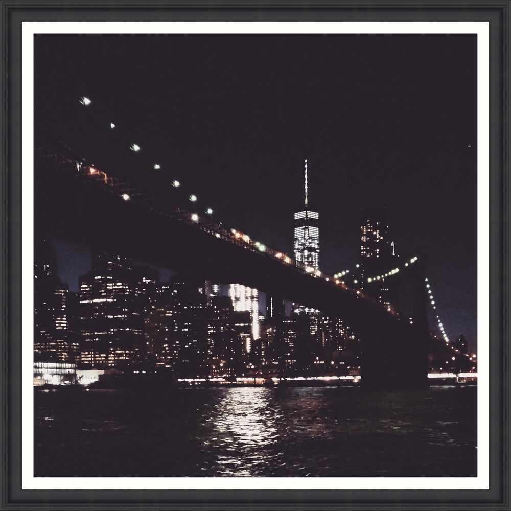 Tablou Framed Art New York At Dusk la pret 690 lei