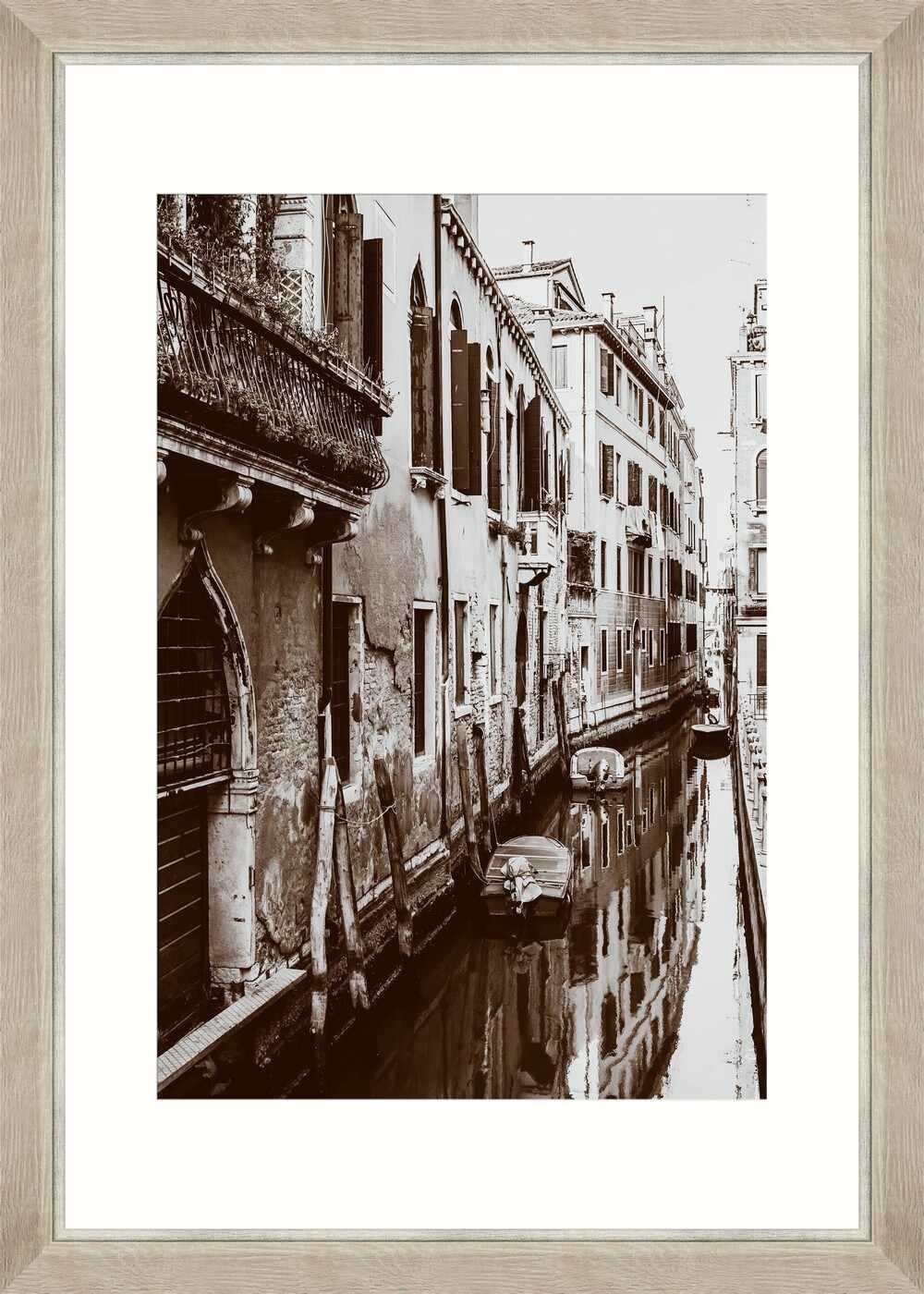 Tablou Framed Art Venician Canal I  la pret 534 lei