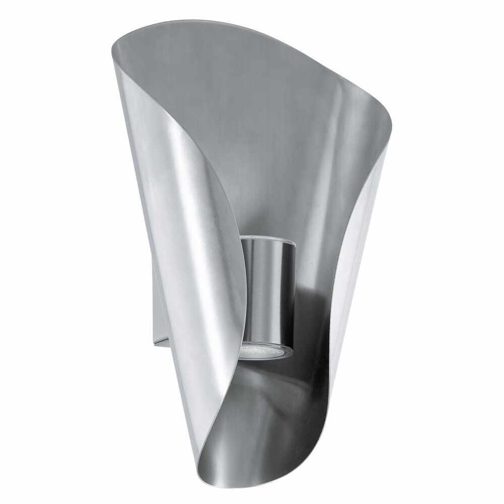 Aplica de exterior cu LED Eglo Modern Bosaro 2x2.5W 17x27x10.5cm otel alb la pret 230.54 lei