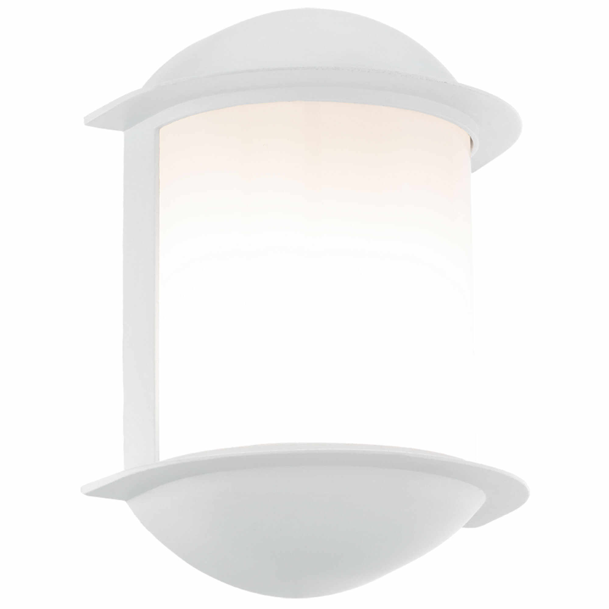 Aplica de exterior cu LED Eglo Modern Isoba 1x7W 16x22x10cm aluminiu alb la pret 164.42 lei