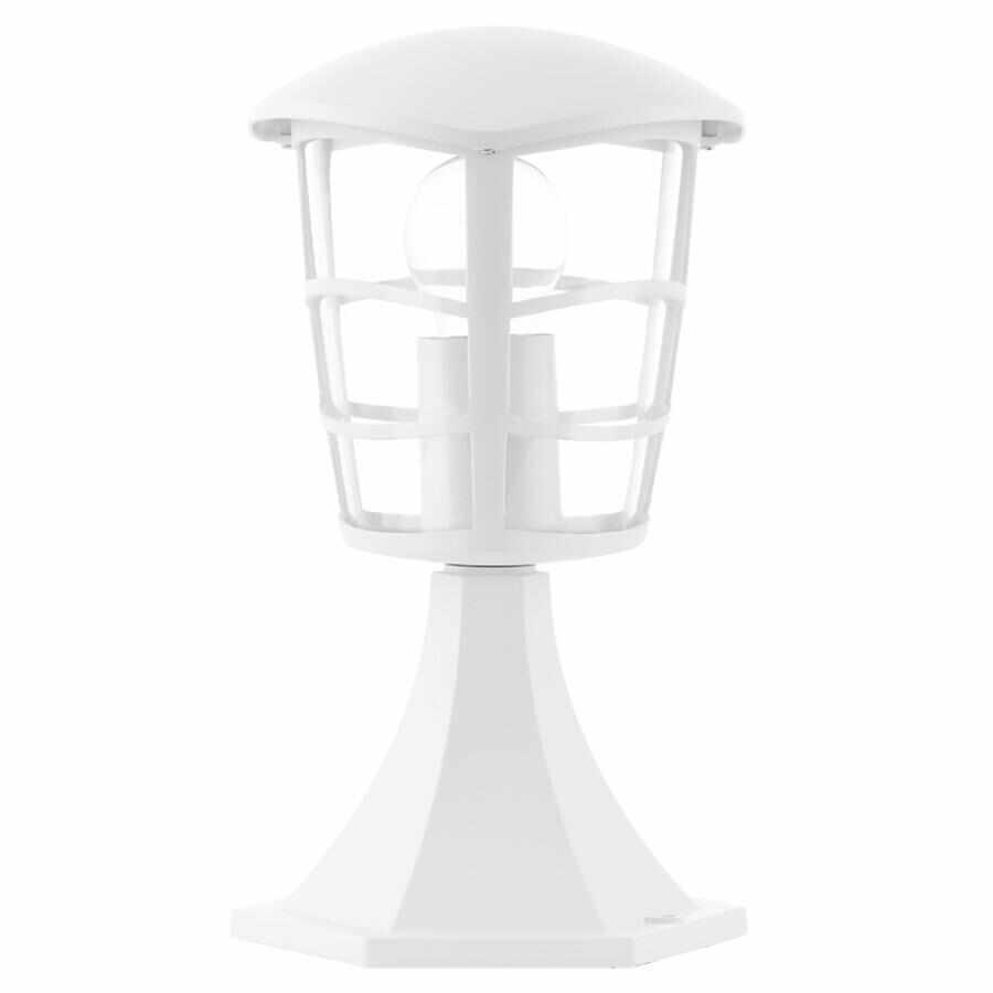 Lampadar Eglo Classic Aloria 1x60W 17x17x30cm aluminiu-plastic alb la pret 120.54 lei