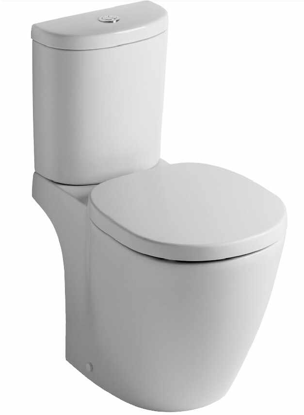Set complet vas WC Ideal Standard Connect Arc cu rezervor si capac la pret 785.01 lei