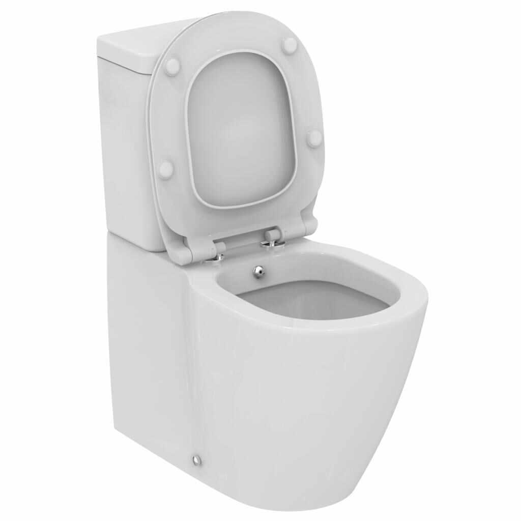 Vas WC Ideal Standard Connect back-to-wall cu functie de bideu la pret 599 lei