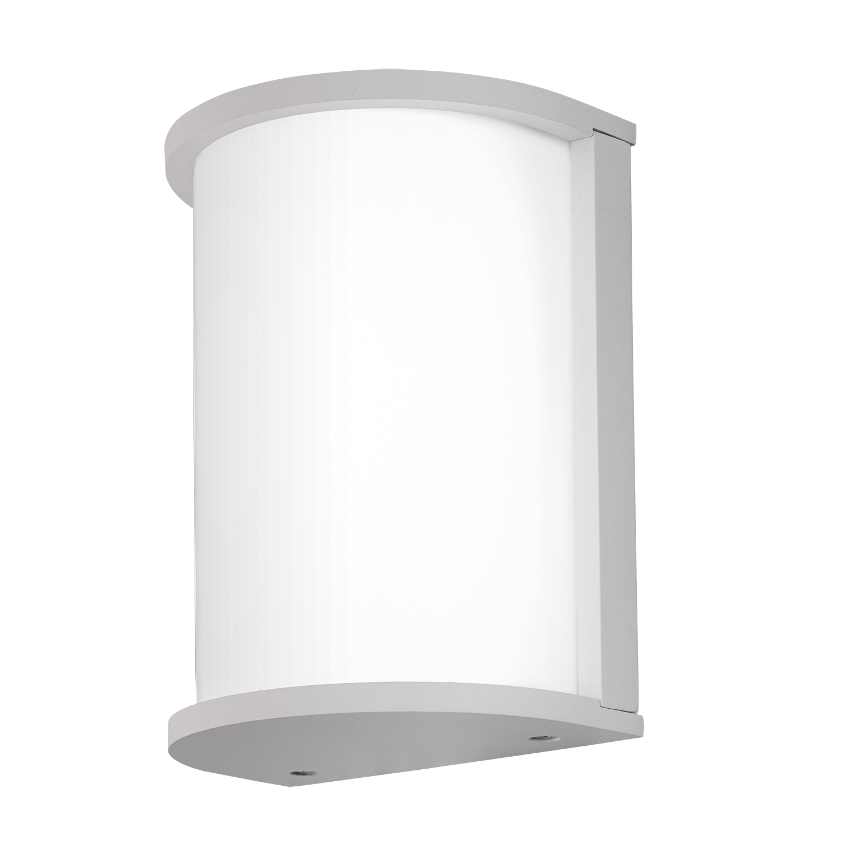 Aplica de exterior Eglo Desella 10W LED 21.5x17cm alb la pret 260.97 lei