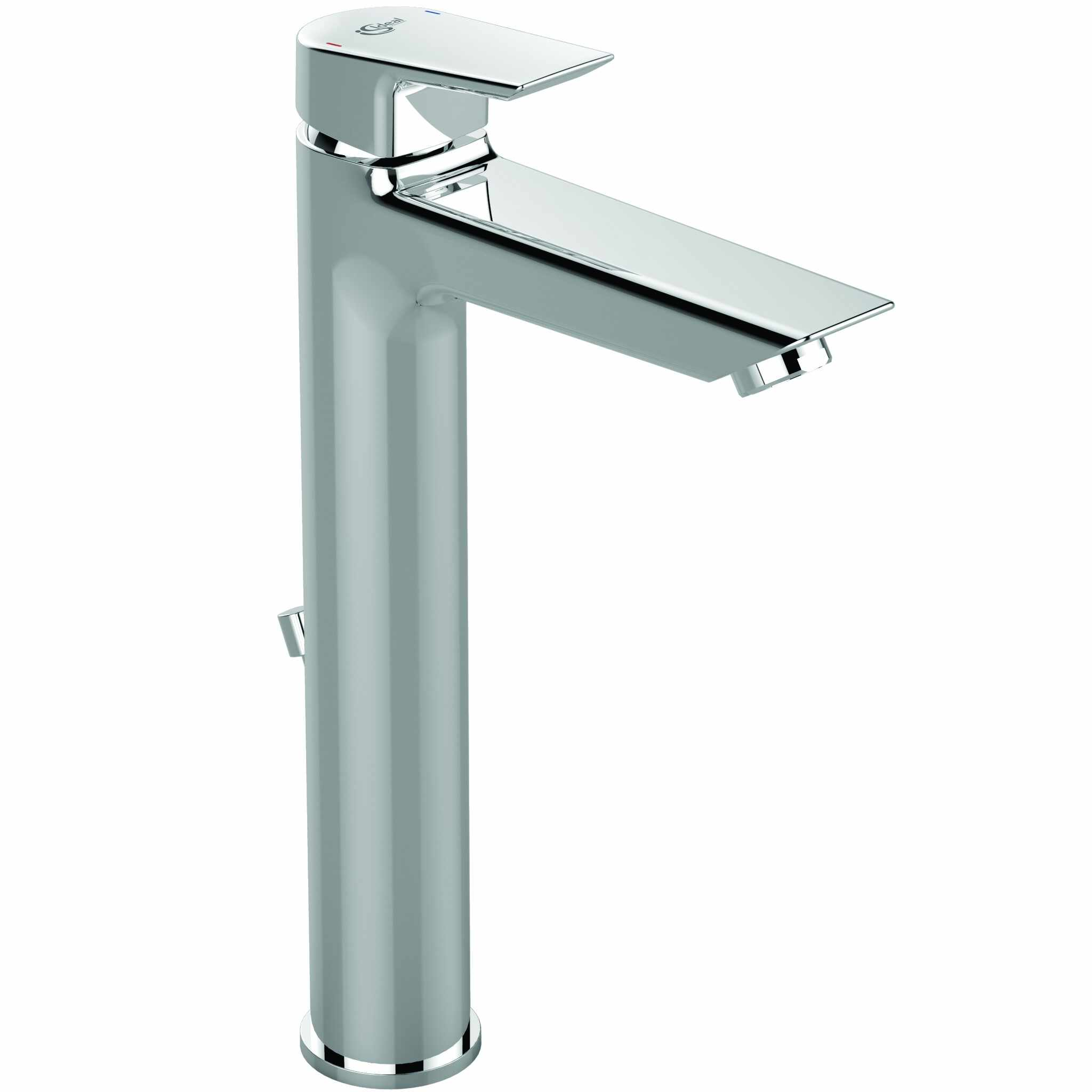 Baterie lavoar Ideal Standard Tesi 301 mm ventil pop-up pentru lavoar tip bol