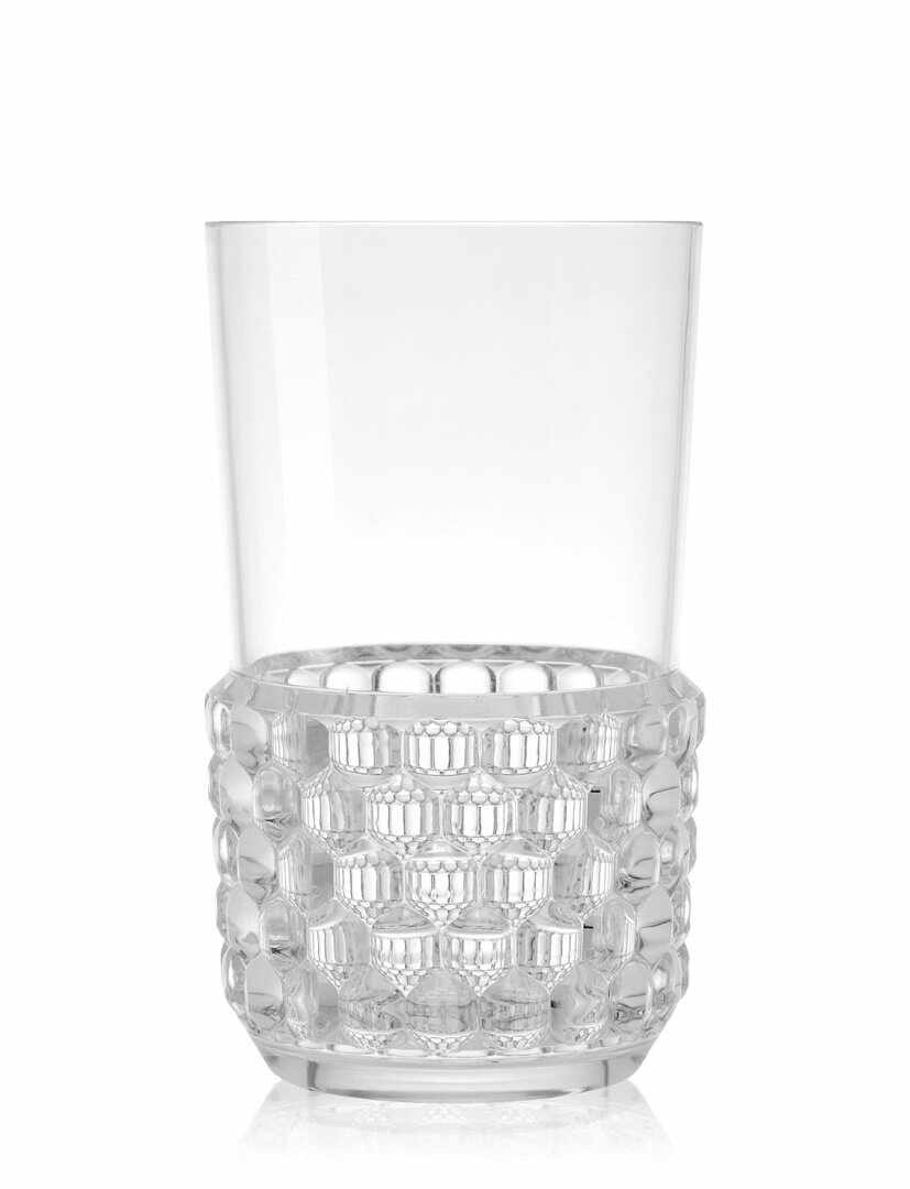 Pahar cocktail Kartell Jellies Family design Patricia Urquiola d 8.5cm h15cm transparent