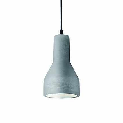 Suspensie Ideal Lux Oil-1 SP1 1x60W 15x50-140cm beton