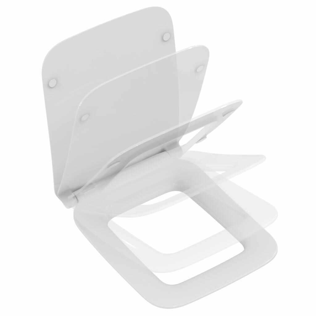 Capac WC Ideal Standard Strada II slim cu inchidere lenta la pret 374.99 lei