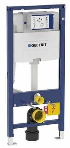Rezervor incastrat Geberit Duofix Omega de 12 cm grosime si cadru cu actionare frontala H112 cm la pret 1116.12 lei