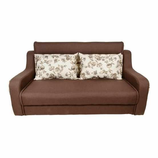Canapele din stofa extensibile DELTA MAX 3 locuri, stofa maro  la pret 2199 lei