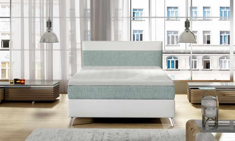 Pat single boxspring COSY 120 la pret 3058 lei