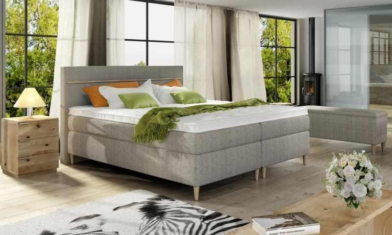 Paturi dormitor cu saltea SCANDIA 160 la pret 4322 lei