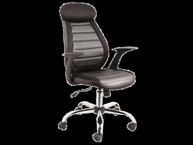 Scaune birou cu suport lombar negru Q-102  la pret 449 lei