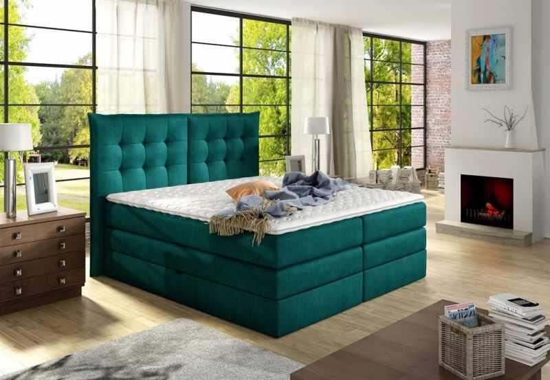 Pat modern dormitor FENDY 160x200 la pret 5949 lei