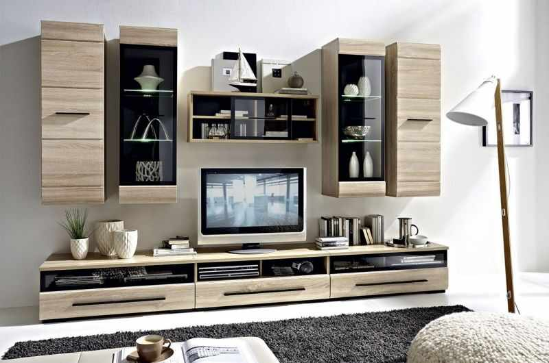 Set mobila living Fever 1 stejar sonoma