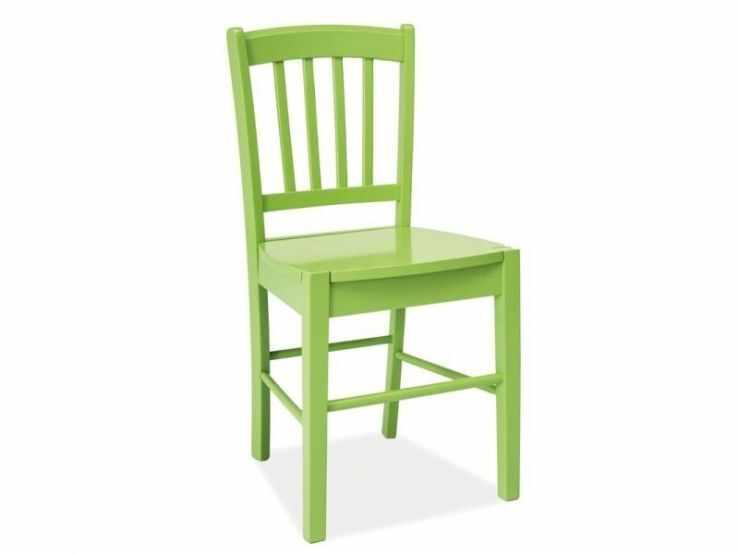 Scaun din lemn masiv verde CD-57  la pret 236 lei